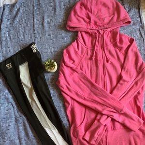 PINK Victoria's Secret Pants - 2-Item Bundle: Leggings and Zip Up
